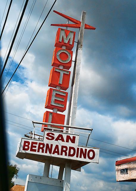 San Bernardino motel