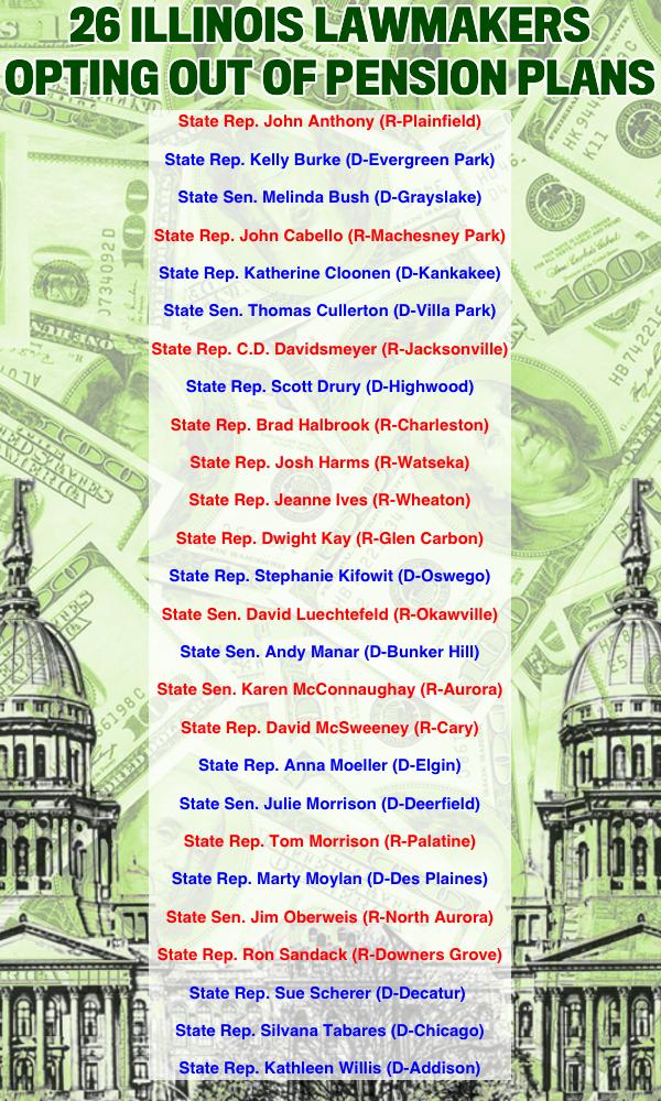 Illinois-politicians-opt-out-pension-plans