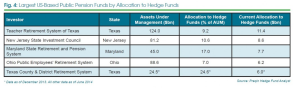 highest hedge fund allocation