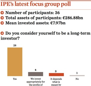 IPE long term investor
