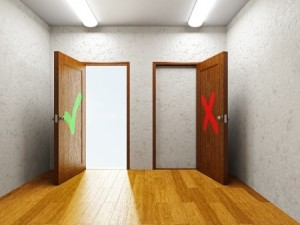 Open-closed-doors
